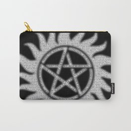Carry On Supernatural Pentacle Carry-All Pouch