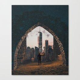 Portal to New York City Canvas Print