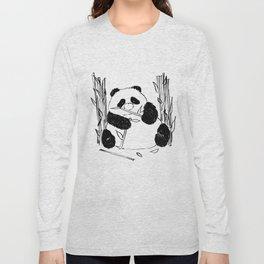 Fat Panda Long Sleeve T-shirt