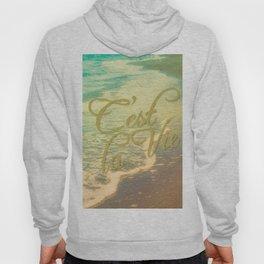 Beach Waves I - C'est La Vie Hoody