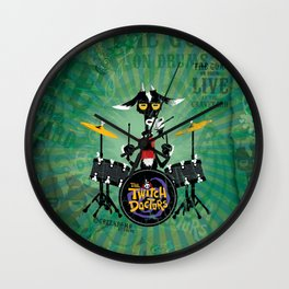The Goat - Drums. The Twitch Doctors Wall Clock