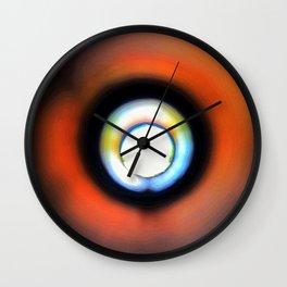 Through the Peephole Wall Clock