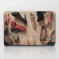 shoes iPad Cases featuring Shoes by Bingz