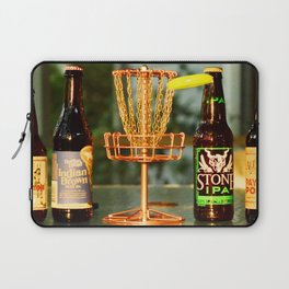 Disc Golf Basket Beer Innova Discraft Vibram Most fun Laptop Sleeve