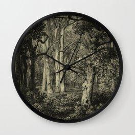 Old Oaks Wall Clock