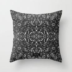 Piccadilly Circus Black & White Throw Pillow
