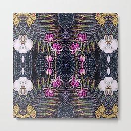 Floral hallway Metal Print