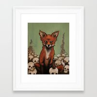 emily rickard Framed Art Prints featuring Emily by Jeff Prymowicz