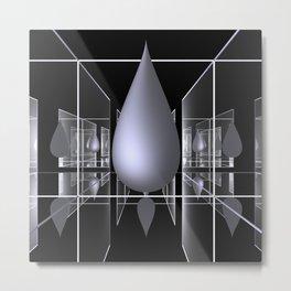 drop -1- Metal Print