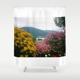 Tegernsee Romance Shower Curtain