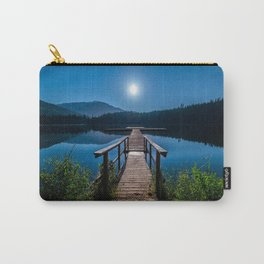 Bright Night Sky at British Columbia Carry-All Pouch