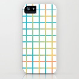 Colors from the rainbow iPhone Case
