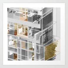 Toronto/Damascus 2/2 Art Print