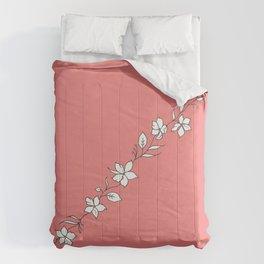 Azalea Floral Cuff Design Comforters