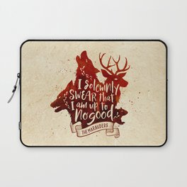 I solemnly swear Laptop Sleeve