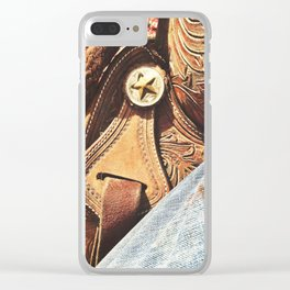 Summer Days Clear iPhone Case