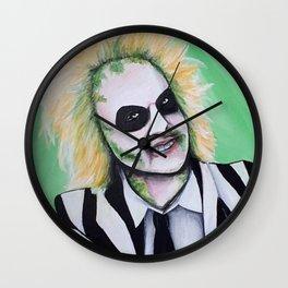 Beetle juice Acrylic Painting Wall Clock
