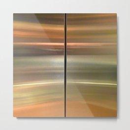 138 Elevator Doors Metal Print