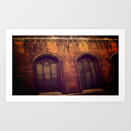 Windows Walked By Art Print