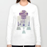 starwars Long Sleeve T-shirts featuring StarWars R2D2 by Joshua A. Biron