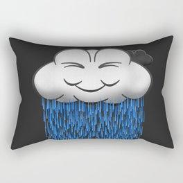 'When it rains, it pours.' Rectangular Pillow
