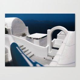Santorini Greece Canvas Print