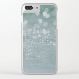 ocean viii / byron bay, australia Clear iPhone Case
