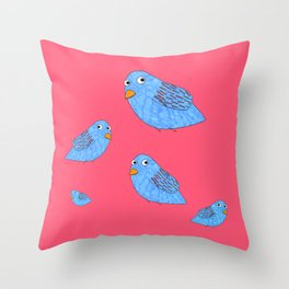 We fly so high Throw Pillow