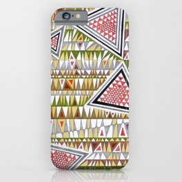 Tetris n. 7 iPhone Case