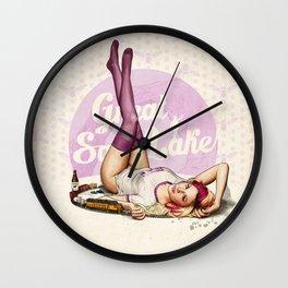 Miss Utah Wall Clock
