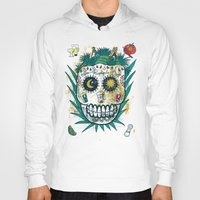tequila Hoodies featuring Tequila by Jorge Garza
