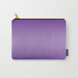 Violet to Pastel Violet Horizontal Bilinear Gradient Carry-All Pouch