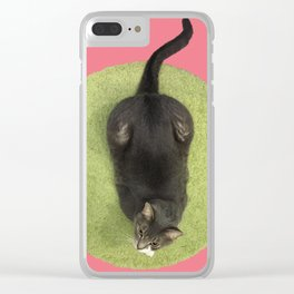 She warned him not to be deceived by appearances, for beauty is found within. Clear iPhone Case