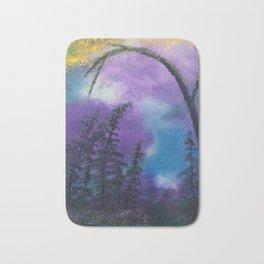 Blissful forest Bath Mat