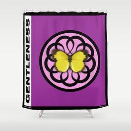 Fruit of the Spirit, Gentleness (Fuschia) Shower Curtain