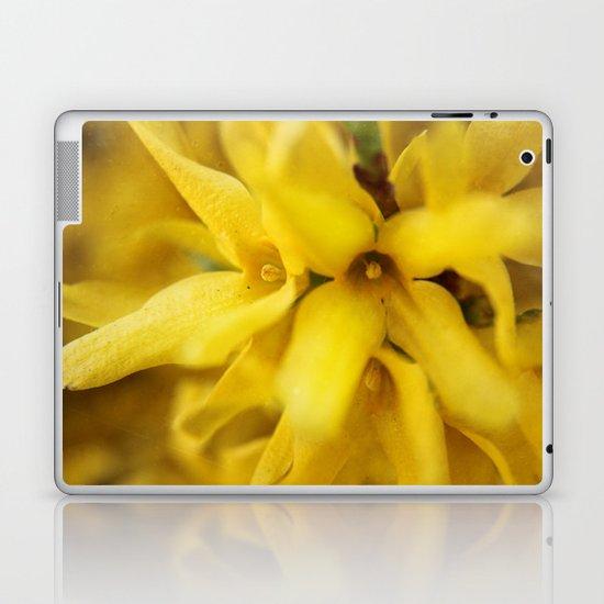 Yellow Explosion Laptop & iPad Skin