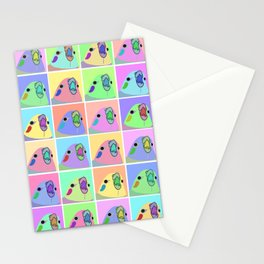 pop art cockatiel Stationery Cards