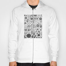 Modern Elements with Black. Hoody