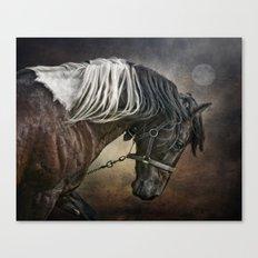 Restless Moon Canvas Print
