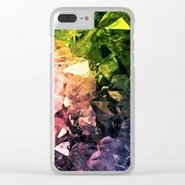 Amethyst Rainbow Clear iPhone Case