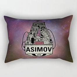 Forever Asimov  Rectangular Pillow