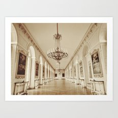 Dreaming of Grand Trianon, Versailles.  Art Print