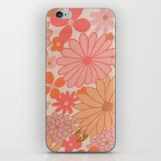 Retro Floral Sheets pink iPhone & iPod Skin