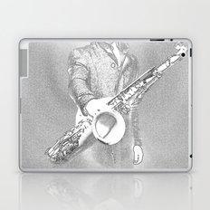 saxophone player... Laptop & iPad Skin