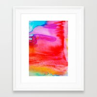 rush Framed Art Prints featuring Rush by Amy Sia