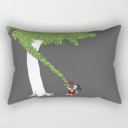 The Taking Tree Rectangular Pillow