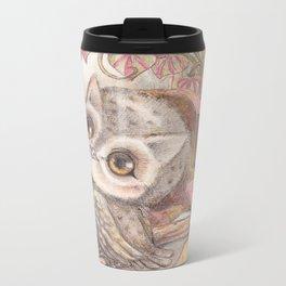 Baby Owl Metal Travel Mug