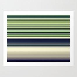 Green Needlework Art Print