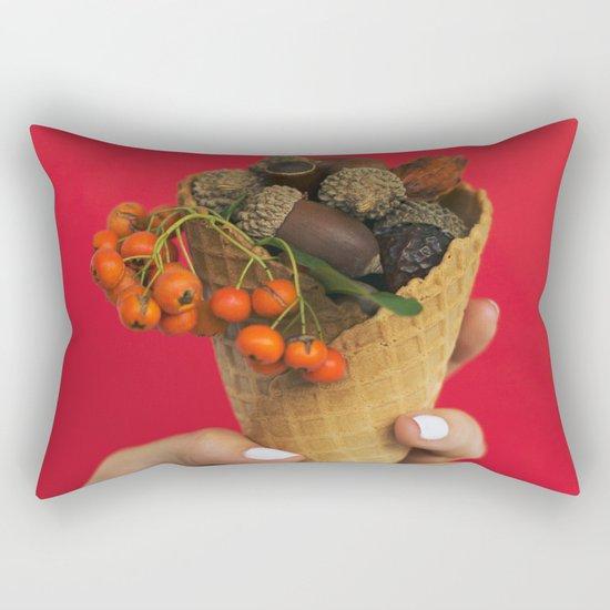 Autumn Season Rectangular Pillow