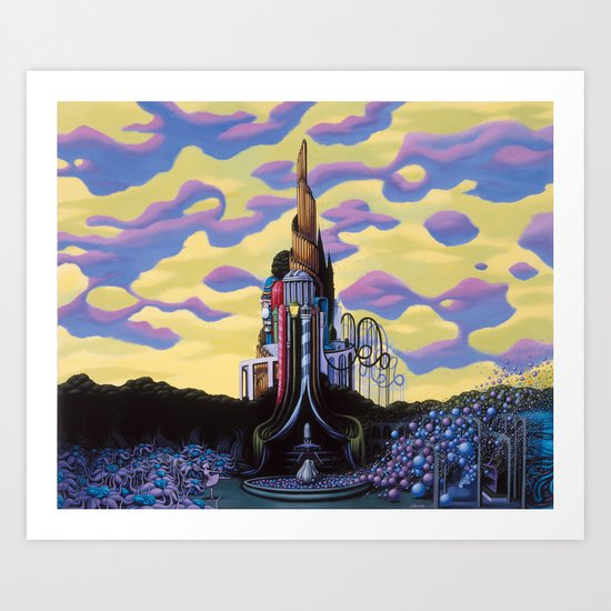 Our Monument To Each Pressing Memory Art Print
